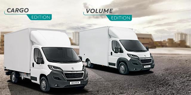 PEUGEOT Cargo und Volume Edition