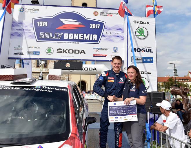 Peugeoty 208 R2 ovládly Rally Bohemia