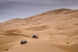 Vozy Peugeot 3008DKRv Maroku