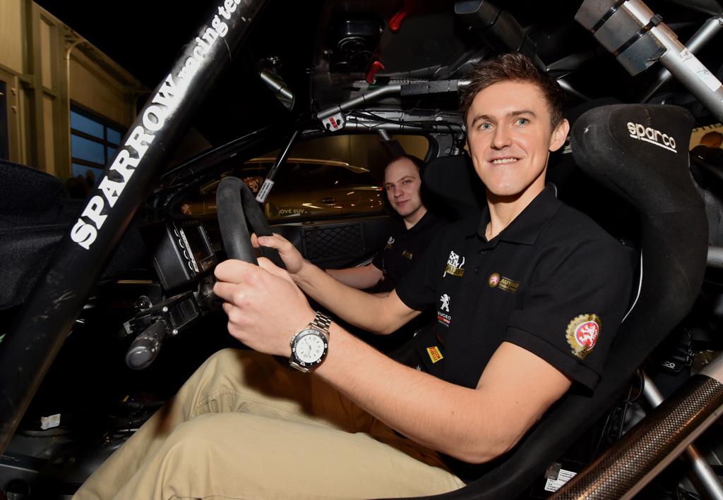 Posádka Autoklub Peugeot Rally Talent má za sebou první a úspěšnou sezonu