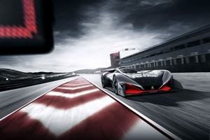 Peugeot představuje L750 R HYbrid Vision Gran Turismo