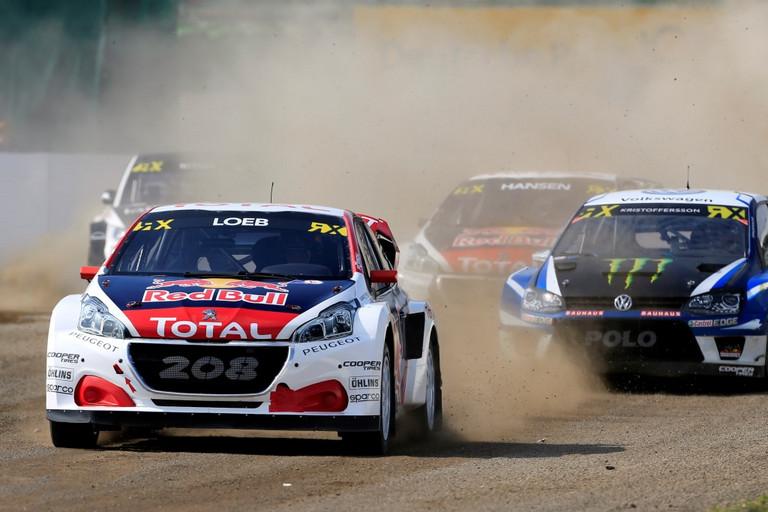 PEUGEOT 208 WRX ukázal svou konkurenceschopnost, když se Timmy Hansen v Hockenheimu umístil na stupních vítězů