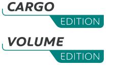 Logo von PEUGEOT Cargo und Volume Edition