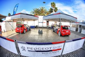 Rally sekce sportovní divize Peugeot Sport se chystá do Zlína