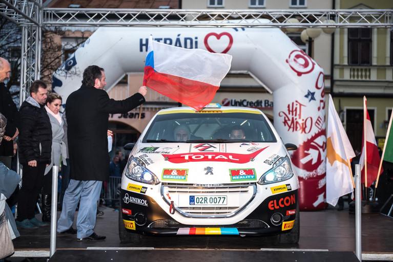 Václav Dunovský cíl Valašské rally nespatřil, přesto je pozitivní