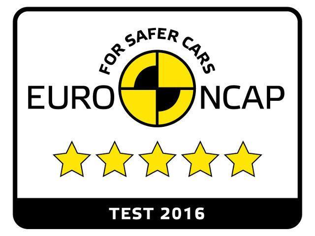 Logo von Euro NCAP Bestnote fuer PEUGEOT 3008 Compact-SUV