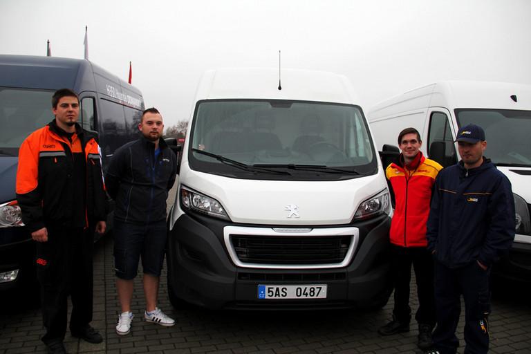 Peugeot Boxer zvítězil ve Velkém kurýrním testu