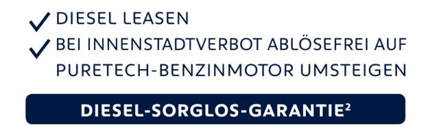 Diesel-sorglos-Garantie von PEUGEOT