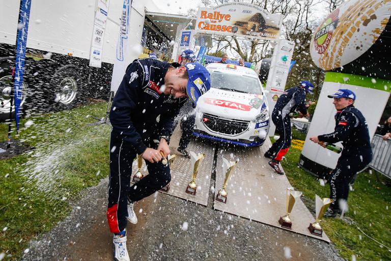 Nový český pohár pro posádky s vozem Peugeot 208 R2