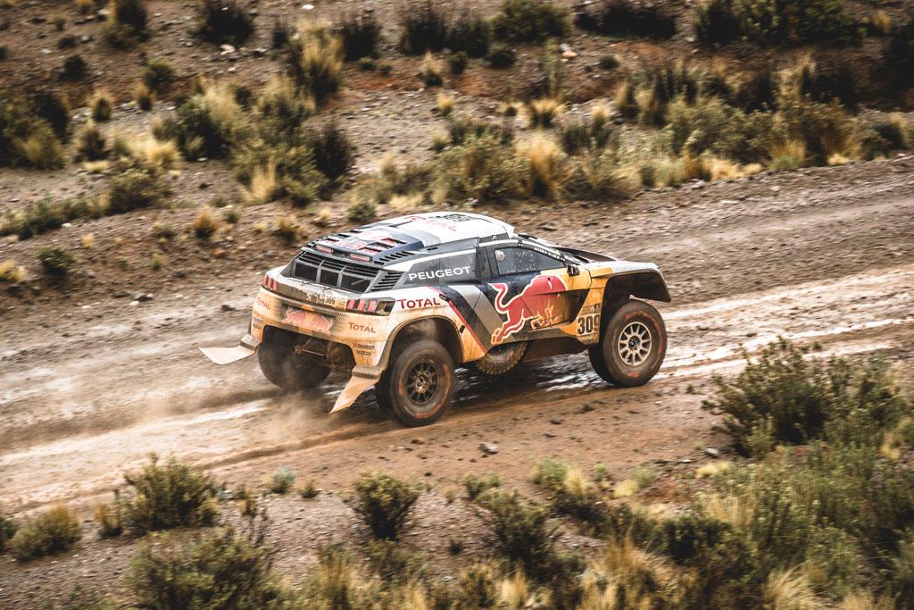 Vozy PEUGEOT 3008DKR ovládly prozatímní stupně vítězů Dakaru