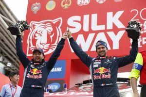 Peugeot druhým rokem za sebou vítězí v Silk Way Rally