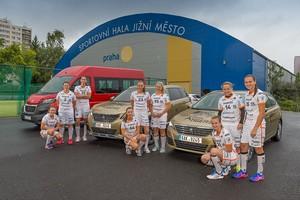 Peugeot v ČR partnerem mistryň ČR ve florbale